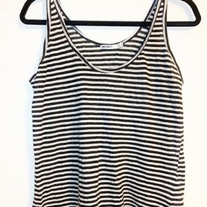 Zara Special T Tank Striped Knit Top